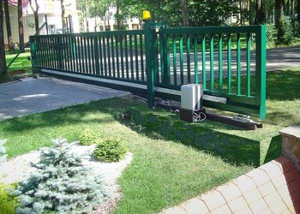 Сдвижные ворота - Пермь