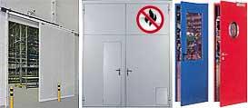 Противопожарные системы | Двери | Ворота
