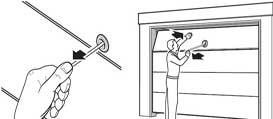 Аварийная деблокировка гаражных приводов Hormann