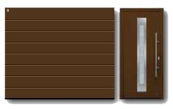 Акция Hoermann 2013 - RenoMatic Silkgrain (коричневый)