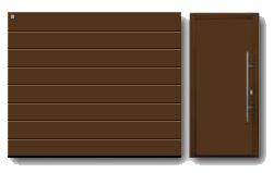 Акция Hoermann 2013 - RenoMatic Woodgrain (цвет белый)