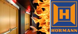 Огнестойкие, дымозащитные, звукоизоляционные двери Hormann