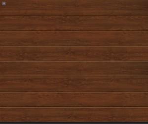 Гаражные ворота в Перми по акции Hormann (Хёрманн) 2015 года по выгодной цене. golden oak dark oak