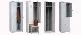 Шкафы для одежды сборные стандарт в Перми
