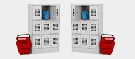 Шкаф для ручной клади ШМ 33-30