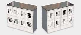 Шкаф для ручной клади и сумок ШМ-С 24-30