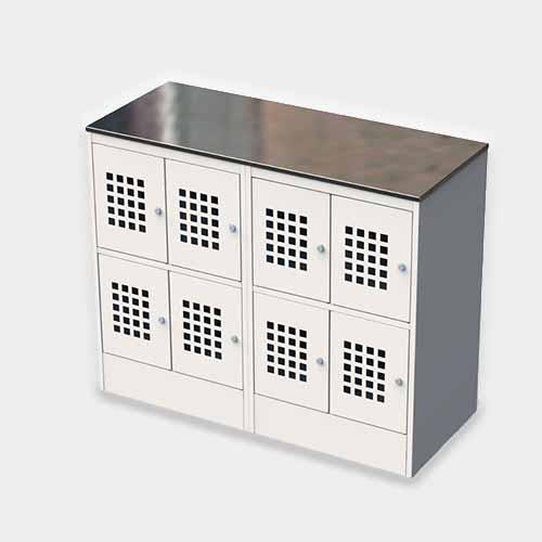 Металлический шкаф для ручной клади и сумок ШМ-С 24-30