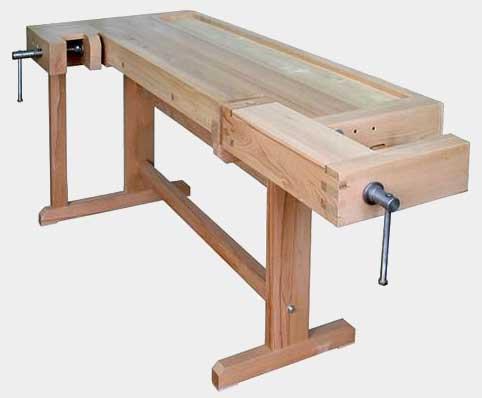 Верстак столярный Классика Профессиональный деревянный в Перми