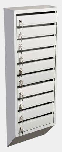 Почтовый ящик для многоквартирного дома Пермь, модель ящика для почты ЭК-10