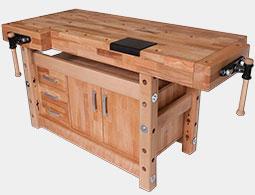 Верстаки столярные деревянные СВД купить в Перми